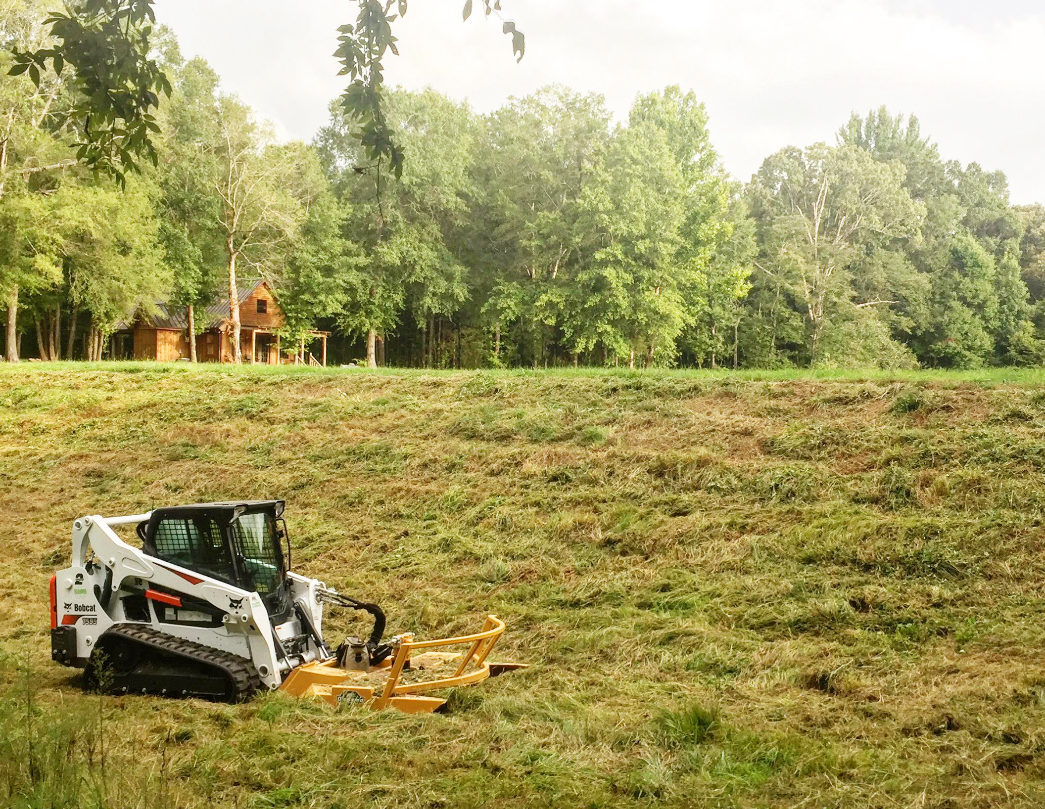 Skid-Steer Rotary Mower in Mississippi