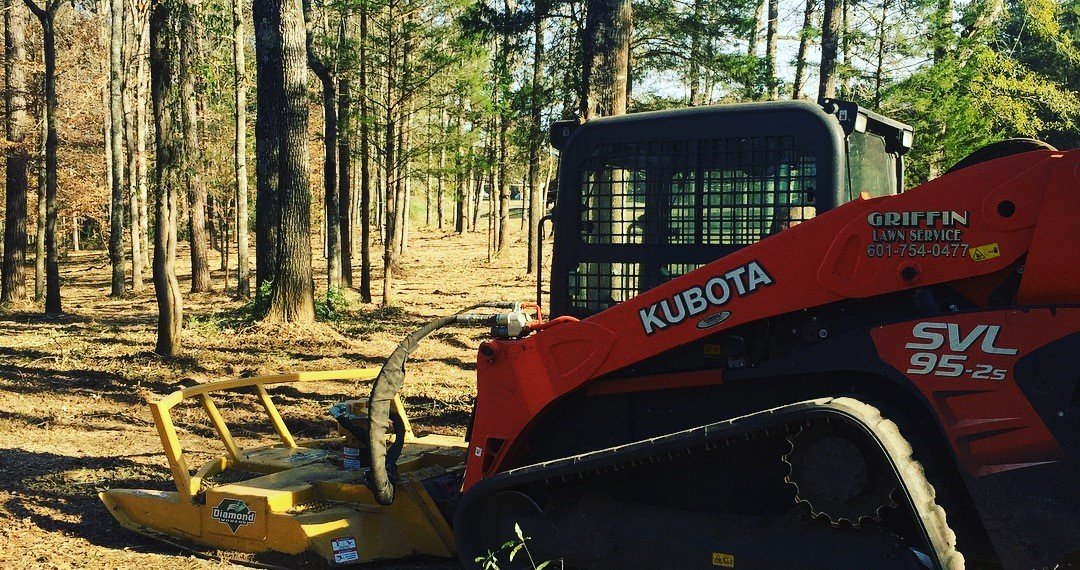 Griffin Lawn Service - Skid-Steer Rotary Mower