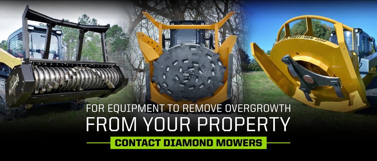 Contact Diamond Mowers