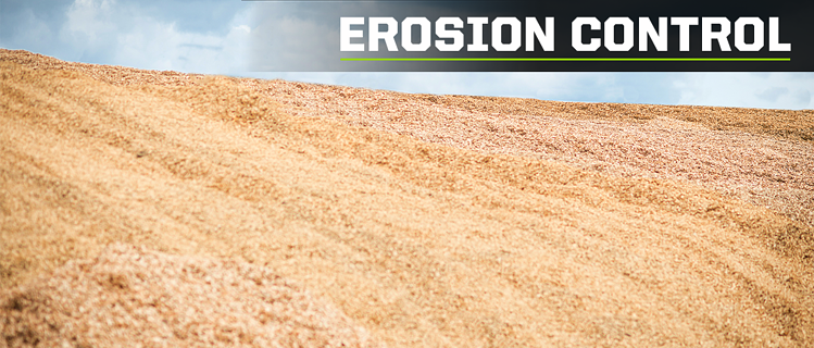 using mulch chips for erosion control