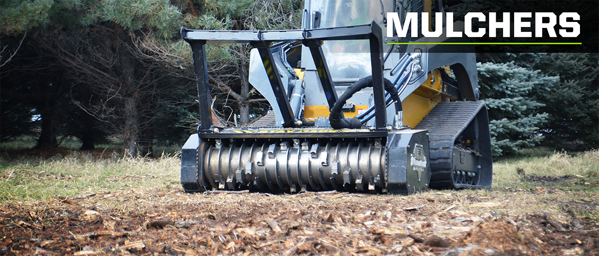 using mulchers to clear property