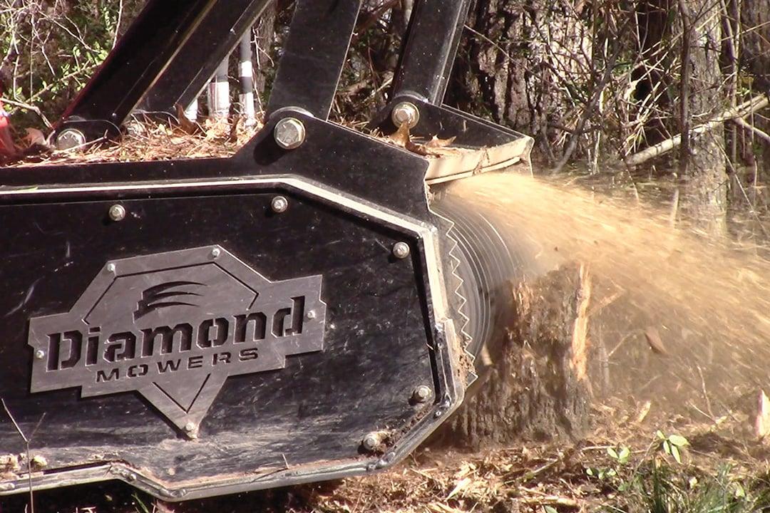 Diamond Forestry Drum Mulcher