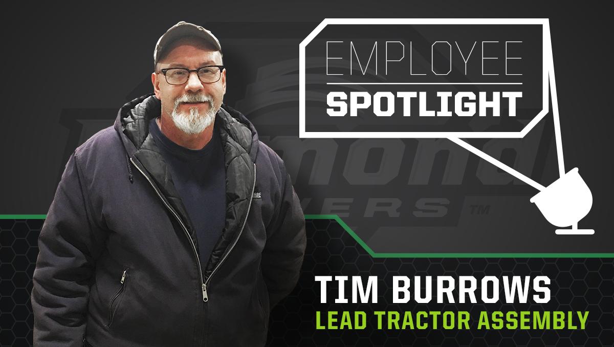 Employee Spotlight - Tim Burrow