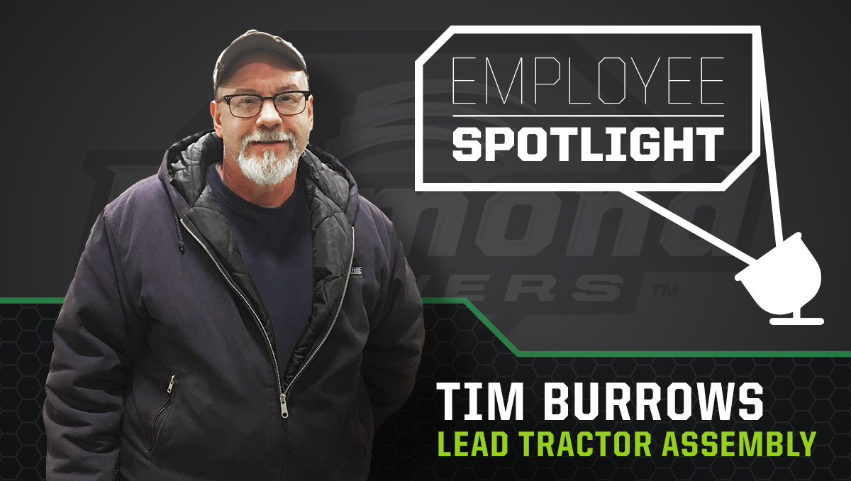 Employee Spotlight - Tim Burrow