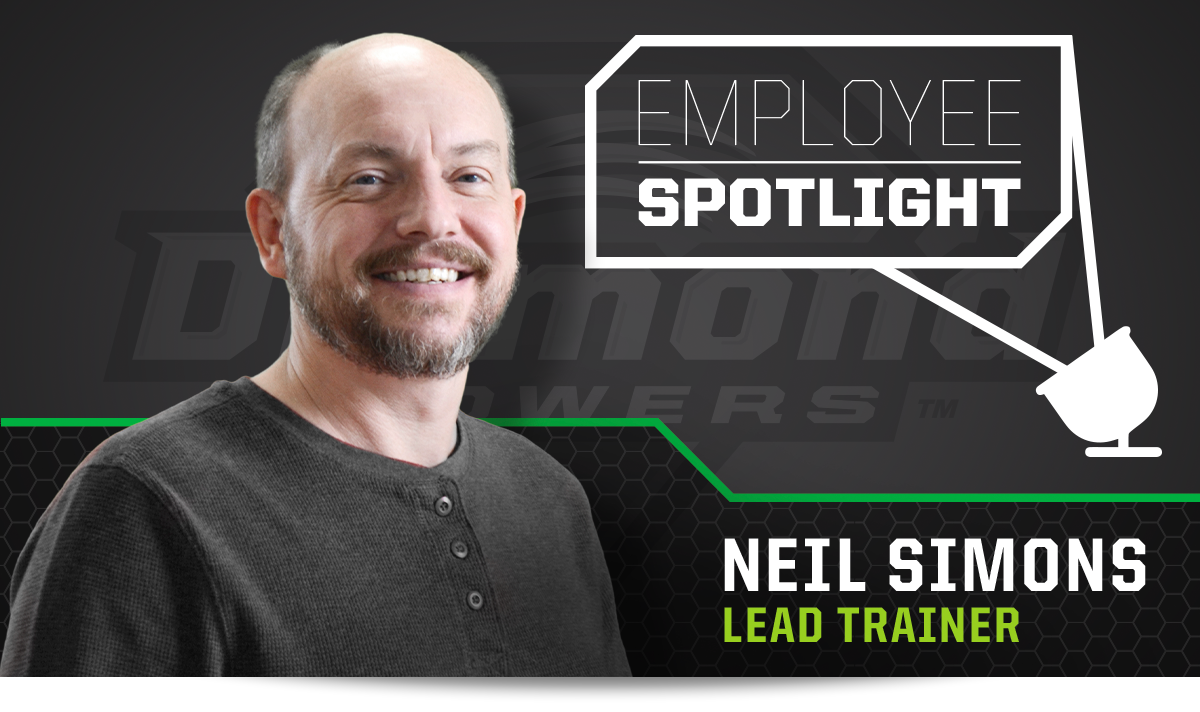 Employee Spotlight - Neil Simons - Lead Trainer