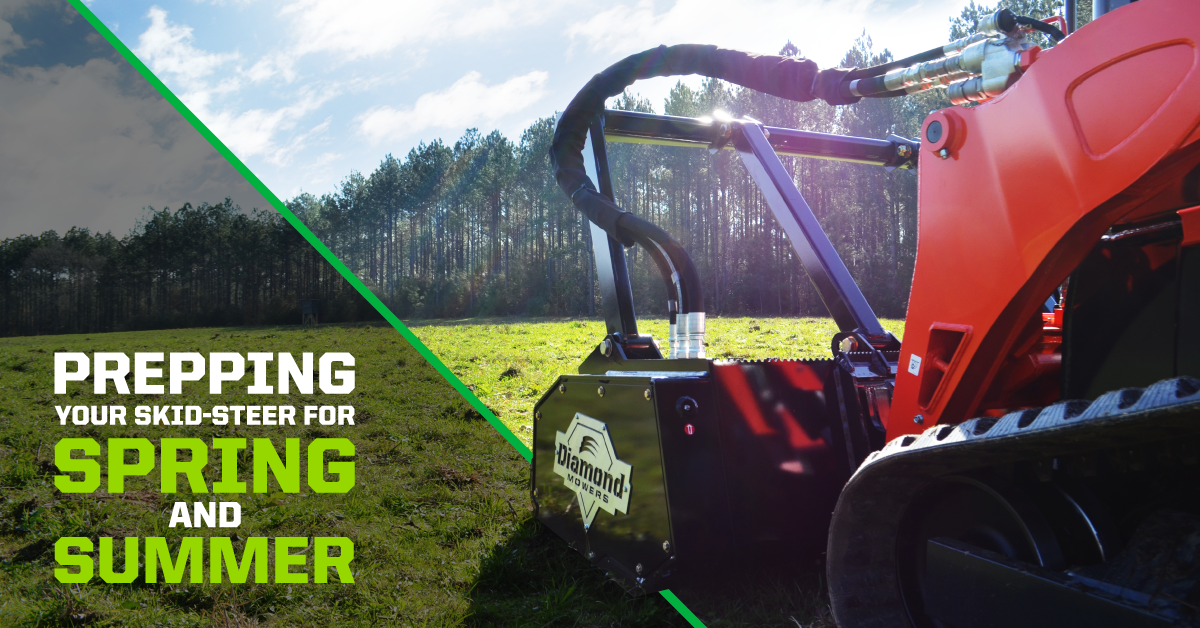 prepping your skid-steer for spring and summer