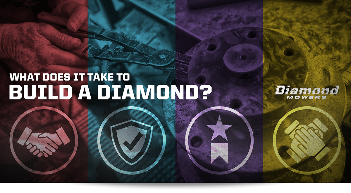 What Does It Take To Build A Diamond?